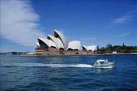 悉尼的标志:悉尼歌剧院