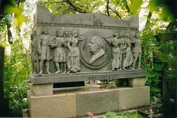 俄罗斯风景列维坦墓地