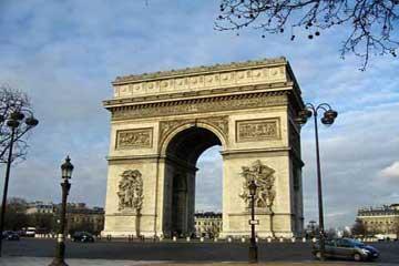 巴黎的象征之一:凯旋门