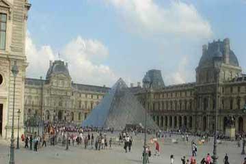 艺术的殿堂卢浮宫