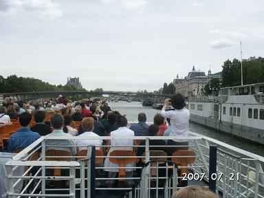 (照片 43 巴黎塞纳河游船)高清图片