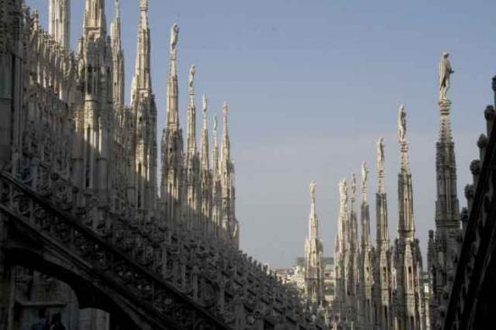 欧式教堂楼梯效果图