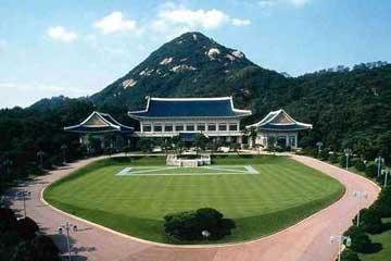 走进韩国总统府青瓦台