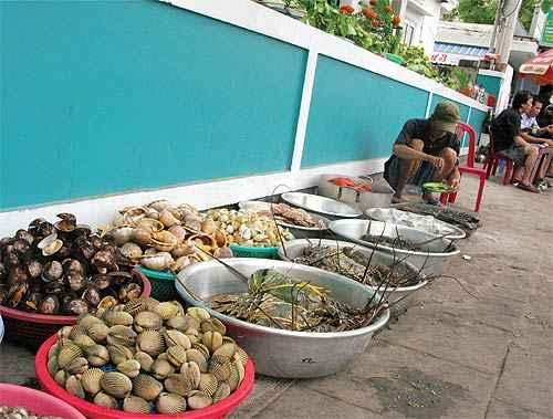 越南芽庄;; 街头海鲜市场; 芽庄09