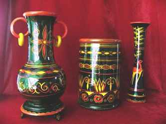新疆民族特色木雕花纹