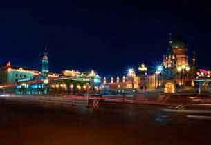 最美的冬季旅游目的地:哈尔滨