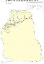 新疆鄯善县地图