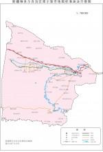 新疆库尔勒市地图