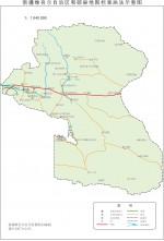 新疆和硕县地图