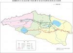 新疆博尔塔拉蒙古自治州政区地图