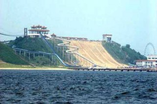 南戴河国际娱乐中心-海洋乐园-海上乐园-仙螺岛