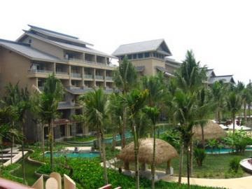 酒店名称:亚龙湾红树林度假酒店 星级标准:五星级酒店 充满热带