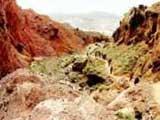 新疆阿克苏天山神秘大峡谷