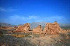 新疆阿克苏地区库车苏巴什古城