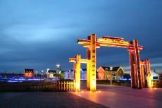新疆阿勒泰金马鞍图瓦民俗文化旅游村