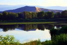 新疆阿勒泰白沙山