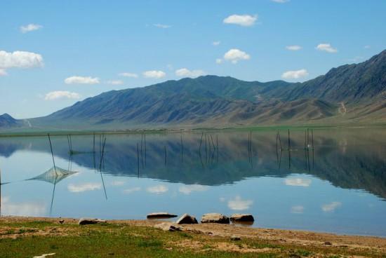 新疆阿勒泰富蕴可可托海伊雷木湖景点介绍,图一