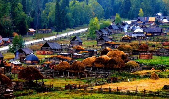 新疆西北第一村白哈巴景区介绍,图一