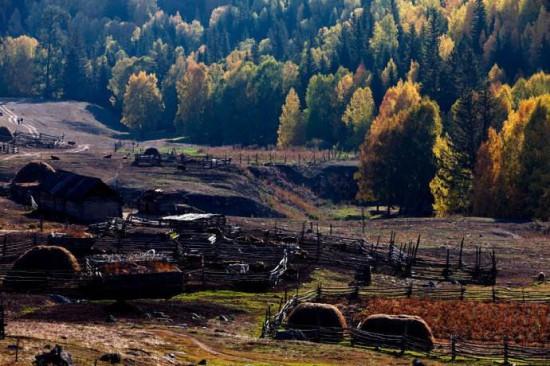 新疆阿勒泰图瓦人部落,图一