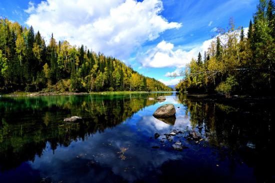 新疆阿勒泰喀纳斯湖,图二