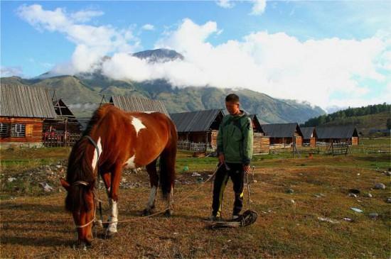 新疆阿勒泰图瓦人部落,图七