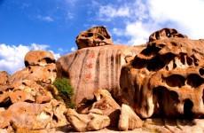 新疆博乐怪石沟风景区