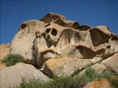 新疆哈密巴里坤县怪石山旅游度假村