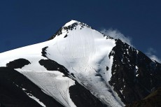 新疆哈密喀尔里克冰川