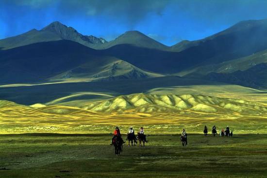 新疆巴音布鲁克草原,图一