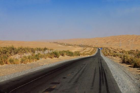 新疆库尔勒塔克拉玛干沙漠,图三