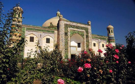 新疆喀什香妃墓-喀什阿帕尔霍加墓,图三