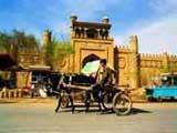 新疆喀什高台民居