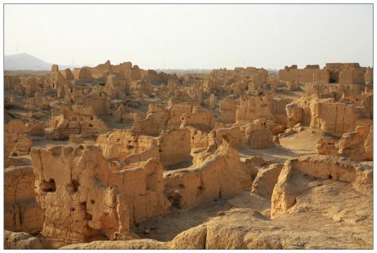 新疆吐鲁番交河故城,图三