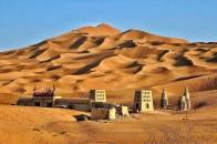 新疆吐鲁番库姆塔格沙漠