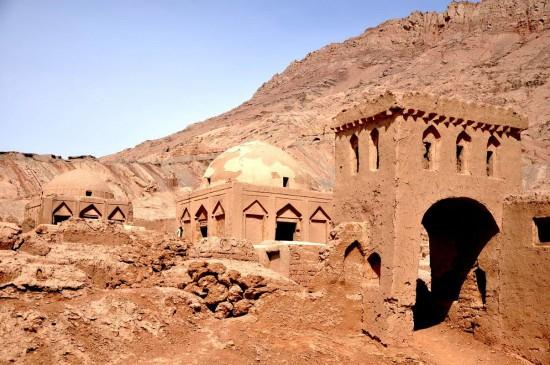 新疆吐鲁番干沟奇景,图三