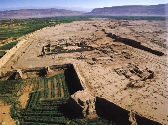 新疆吐鲁番坎尔井,图二