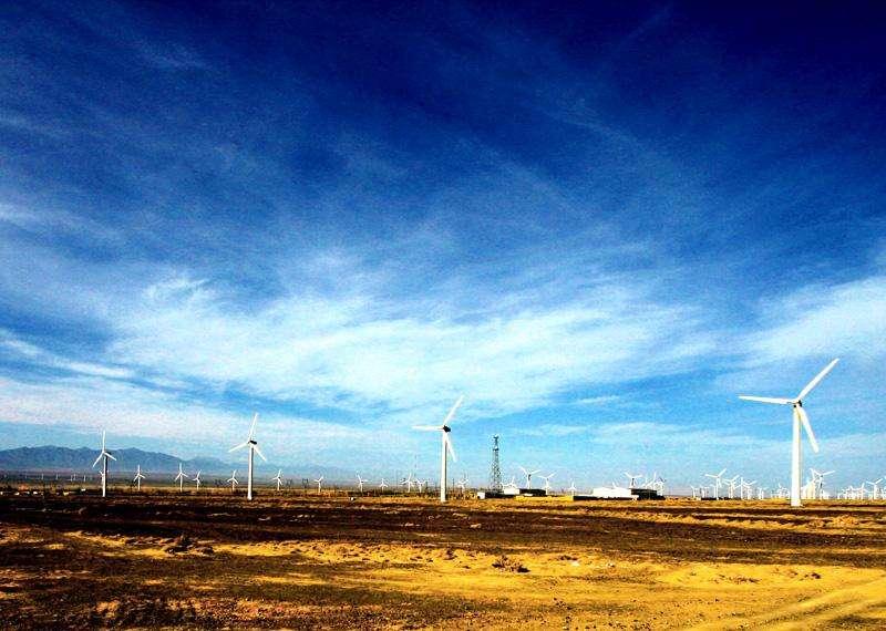 新疆乌鲁木齐达坂城风力发电站