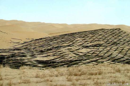 沙漠塔克拉玛干塔里木盆地