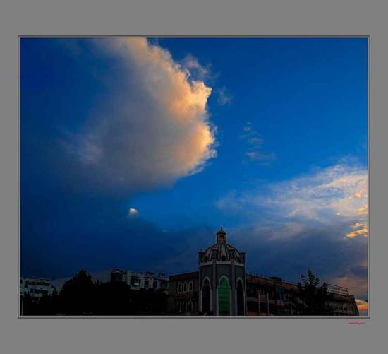 喀什的天空