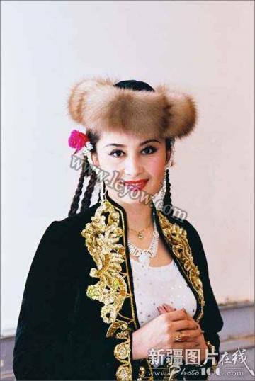 维吾尔族人物特写