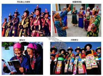 蒙古族服饰_新疆旅行网