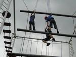 企业拓展之垂直天梯