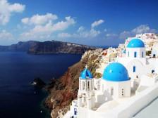 蓝白之恋-希腊八日游