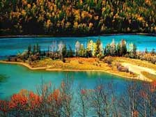 A喀纳斯、禾木、赛湖、霍尔果斯、巴音布鲁克、那拉提双卧环线8日游