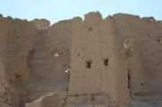 新疆哈密艾斯克霞尔古城堡